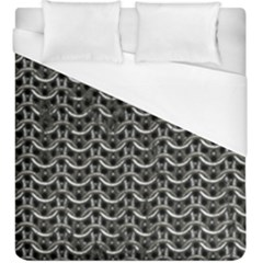 Sparkling Metal Chains 01b Duvet Cover (king Size)