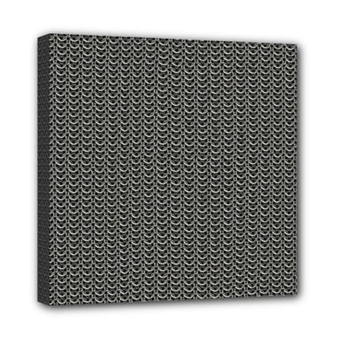 Sparkling Metal Chains 03a Mini Canvas 8  X 8