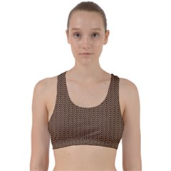 Sparkling Metal Chains 03b Back Weave Sports Bra