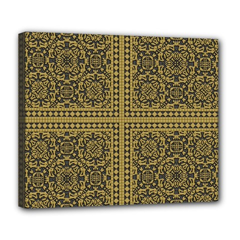 Seamless Pattern Design Texture Deluxe Canvas 24  X 20