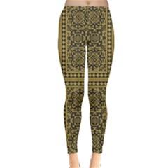 Seamless Pattern Design Texture Leggings