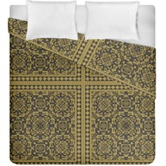 Seamless Pattern Design Texture Duvet Cover Double Side (king Size)