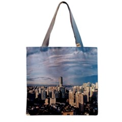 Shanghai The Window Sunny Days City Grocery Tote Bag