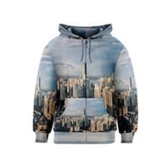 Shanghai The Window Sunny Days City Kids  Zipper Hoodie