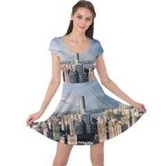 Shanghai The Window Sunny Days City Cap Sleeve Dress