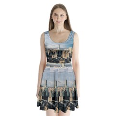 Shanghai The Window Sunny Days City Split Back Mini Dress