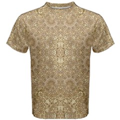 Ornate Golden Baroque Design Men s Cotton Tee