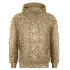 Ornate Golden Baroque Design Men s Pullover Hoodie