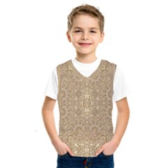 Ornate Golden Baroque Design Kids  Sportswear