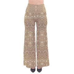 Ornate Golden Baroque Design Pants