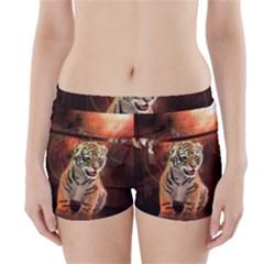 Cute Little Tiger Baby Boyleg Bikini Wrap Bottoms