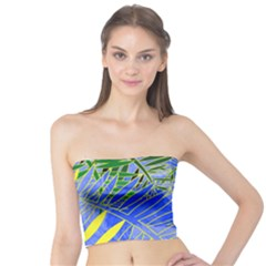 Tropical Palms Tube Top