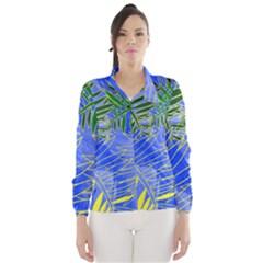 Tropical Palms Wind Breaker (women)