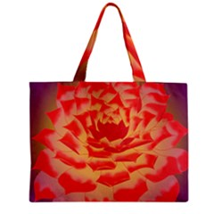 Inner Glow Zipper Mini Tote Bag