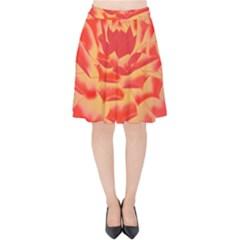 Inner Glow Velvet High Waist Skirt