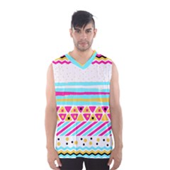 Tribal Men s Basketball Tank Top