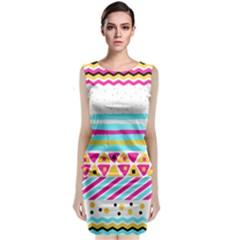 Tribal Classic Sleeveless Midi Dress