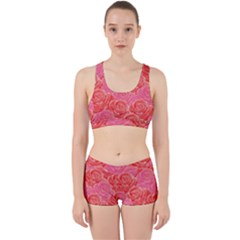 Roses Work It Out Sports Bra Set