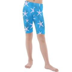 Star Fish Kids  Mid Length Swim Shorts