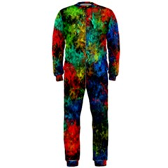 Squiggly Abstract A Onepiece Jumpsuit (men)
