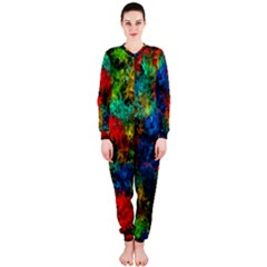 Squiggly Abstract A Onepiece Jumpsuit (ladies)