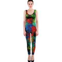 Squiggly Abstract A Onepiece Catsuit