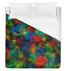 Squiggly Abstract A Duvet Cover (queen Size)