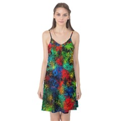 Squiggly Abstract A Camis Nightgown