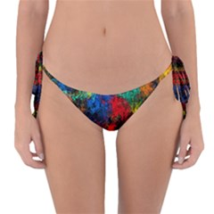 Squiggly Abstract A Reversible Bikini Bottom