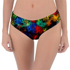 Squiggly Abstract A Reversible Classic Bikini Bottoms