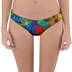 Squiggly Abstract A Reversible Hipster Bikini Bottoms