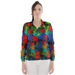 Squiggly Abstract A Wind Breaker (women)