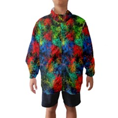 Squiggly Abstract A Wind Breaker (kids)