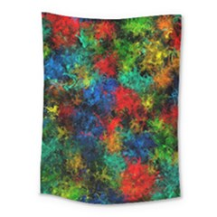 Squiggly Abstract A Medium Tapestry