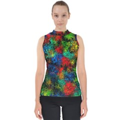 Squiggly Abstract A Shell Top