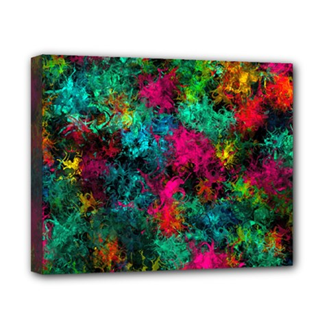Squiggly Abstract B Canvas 10  X 8