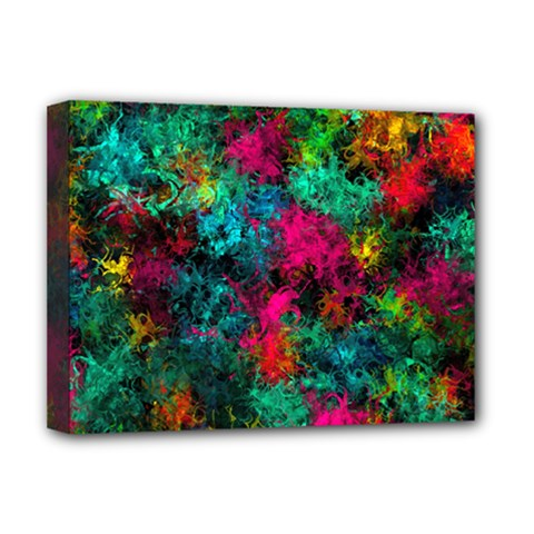 Squiggly Abstract B Deluxe Canvas 16  X 12