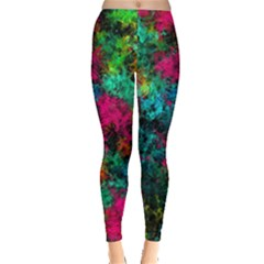 Squiggly Abstract B Leggings