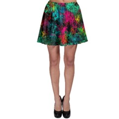 Squiggly Abstract B Skater Skirt