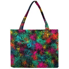Squiggly Abstract B Mini Tote Bag