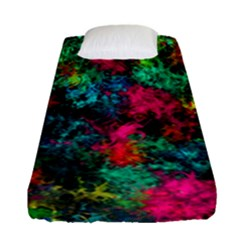 Squiggly Abstract B Fitted Sheet (single Size)