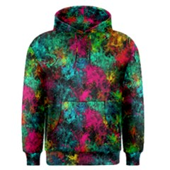 Squiggly Abstract B Men s Pullover Hoodie