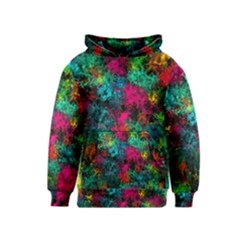 Squiggly Abstract B Kids  Pullover Hoodie