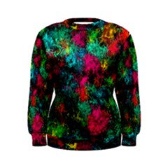 Squiggly Abstract B Women s Sweatshirt