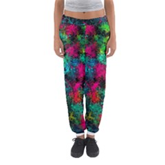 Squiggly Abstract B Women s Jogger Sweatpants