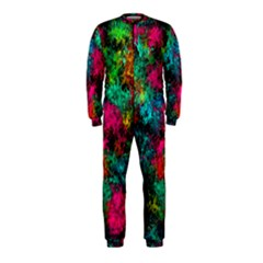 Squiggly Abstract B Onepiece Jumpsuit (kids)