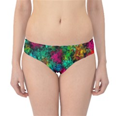 Squiggly Abstract B Hipster Bikini Bottoms