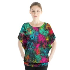Squiggly Abstract B Blouse