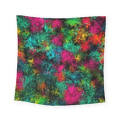 Squiggly Abstract B Square Tapestry (small)