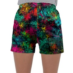 Squiggly Abstract B Sleepwear Shorts